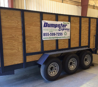 15 yard dumpster rental